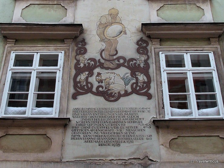Mural at the Basiliskenhaus
