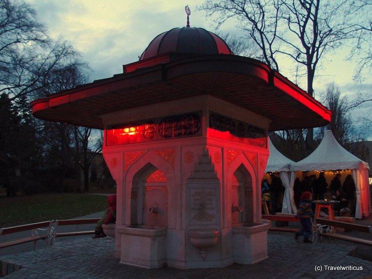Christmas market at Türkenschanzpark in Vienna, Austria