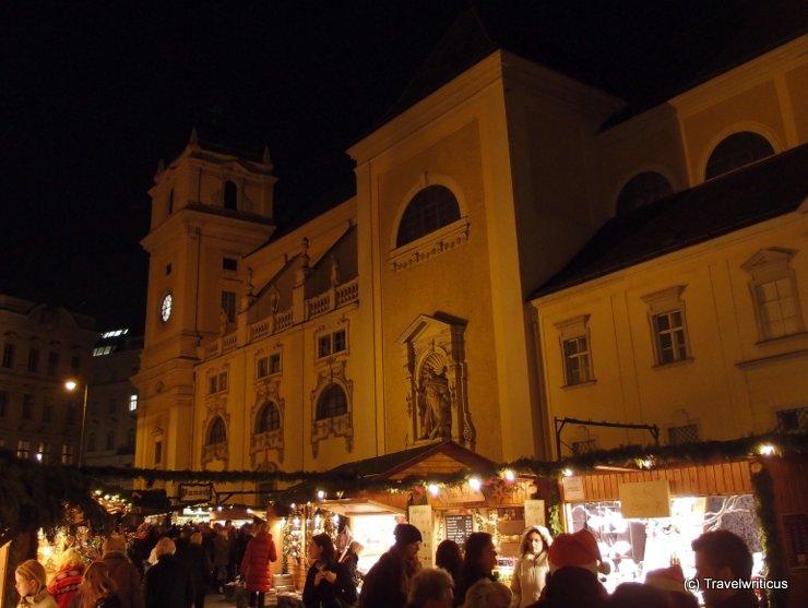 Altwiener Christkindlmarkt at the Freyung, Vienna