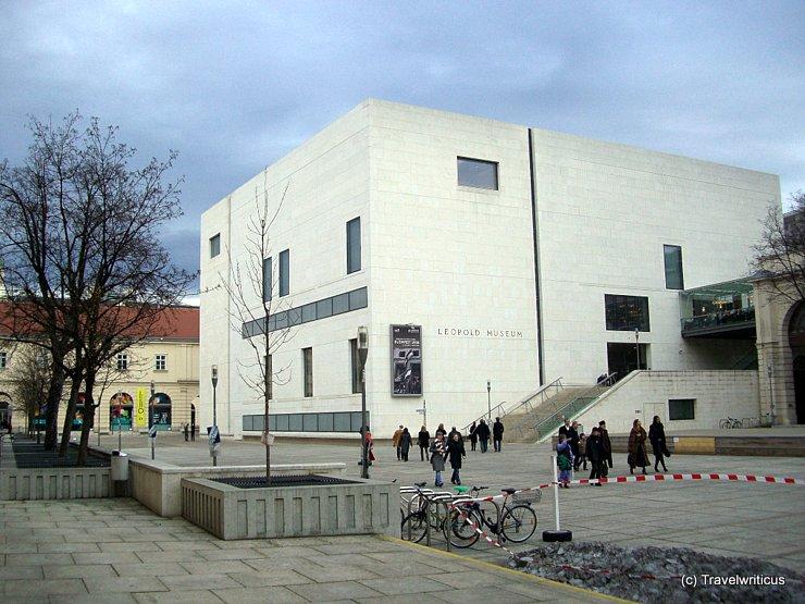 Leopoldmuseum in Vienna, Austria
