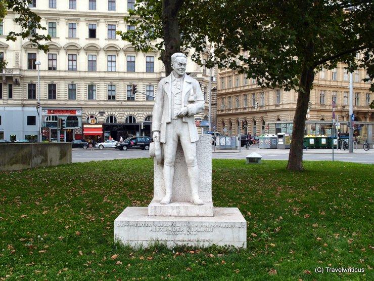 Monument to Alexander Girardi in Vienna
