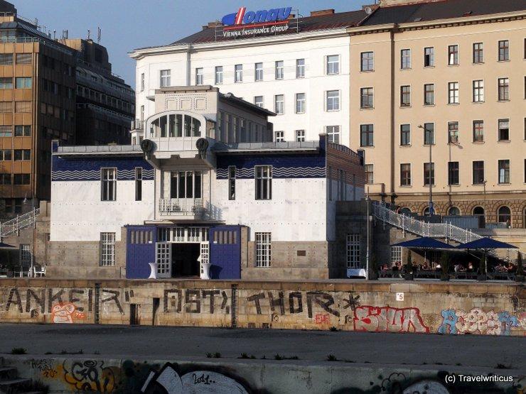 Schützenhaus by Otto Wagner in Vienna, Austria