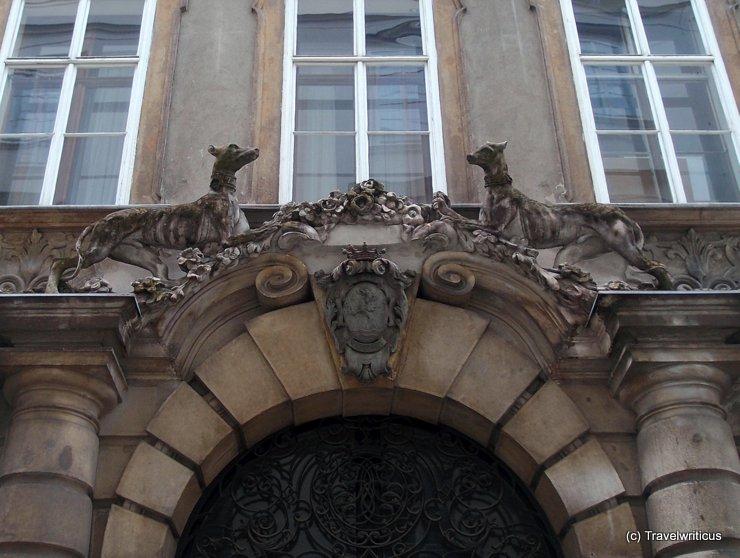 Palais Fürstenberg in Vienna, Austria