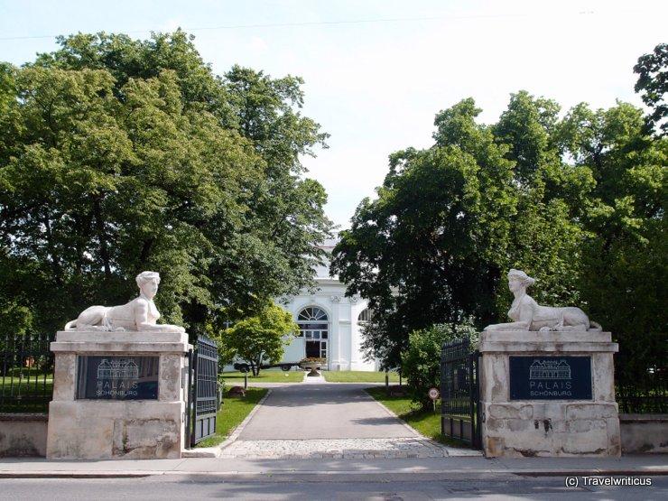 Palais Schönburg in Vienna, Austria