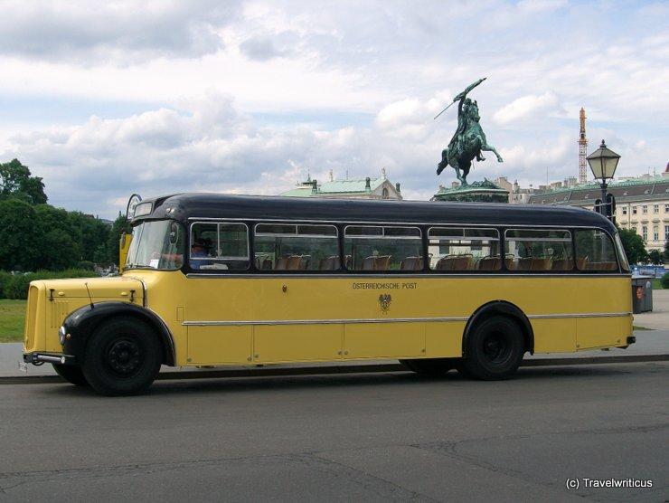 Postbus Saurer 5GF-U in Vienna, Austria