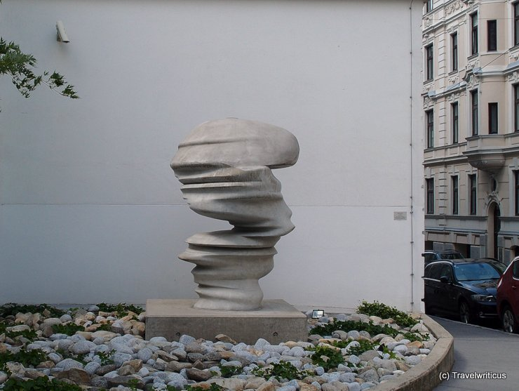 Sculpture 'Points of View' in Vienna, Austria