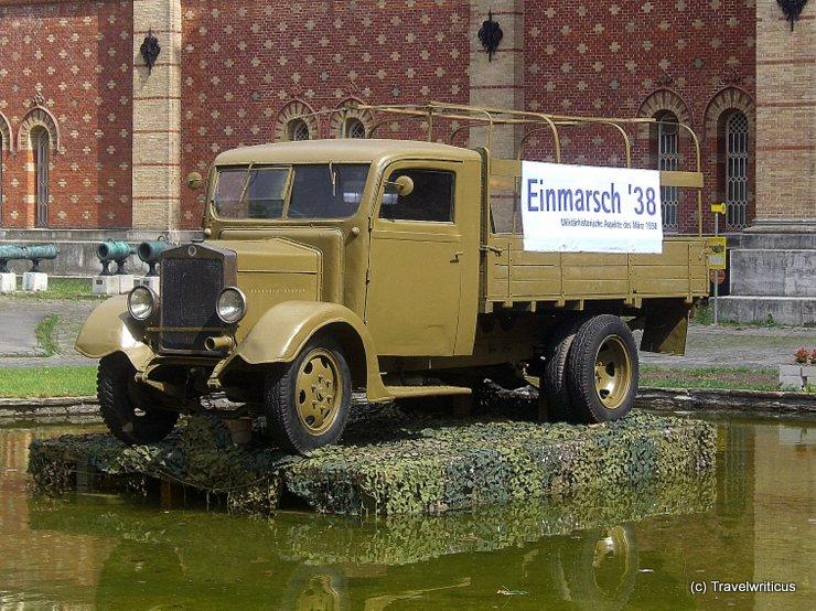 Truck Austria-Fiat AFL in Vienna, Austria