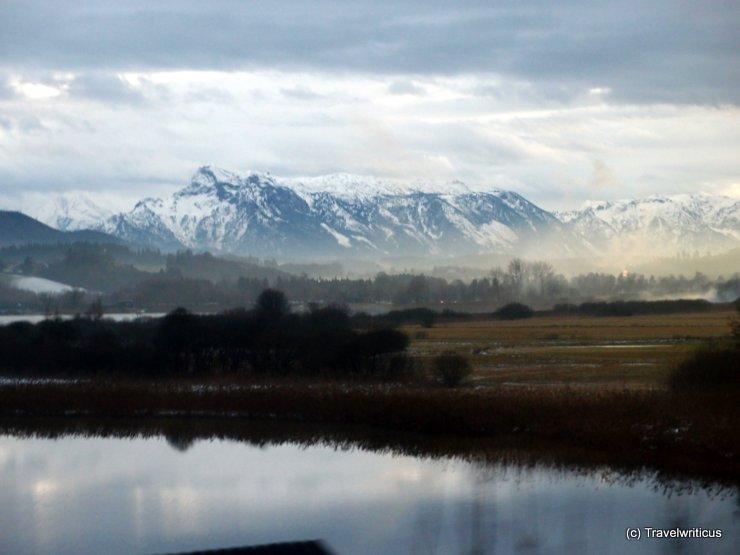 Wallersee in winter