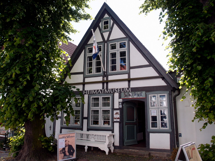 Museum of local history in Warnemünde, Germany