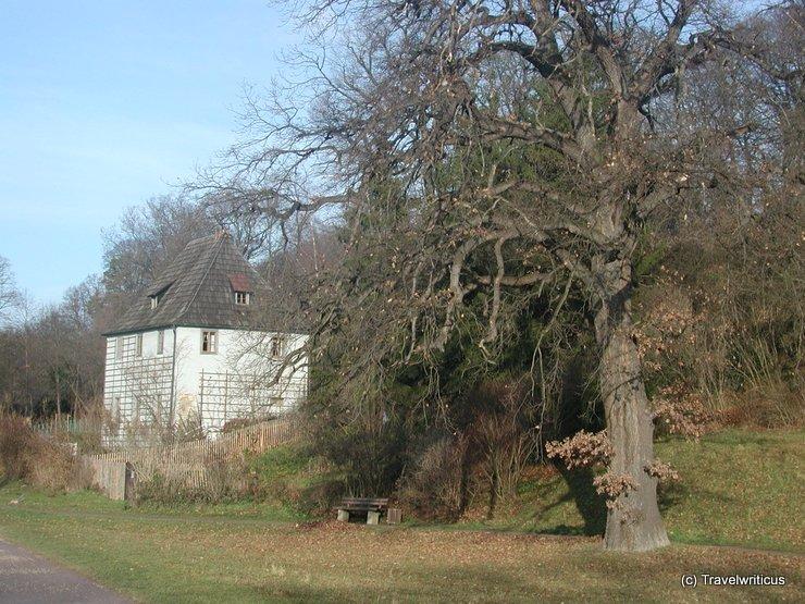 View of Goethe's garden house